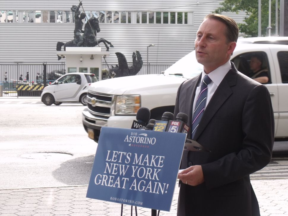 Rob Astorino Calls For West Africa Flight Bans to Prevent Ebola