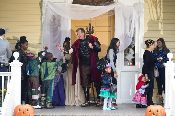 Trick or Treat: De Blasio Didn't Have to Pay for Halloween Costumes