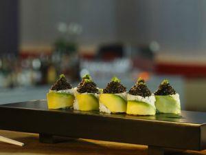 "The ""Masa toro with caviar"" costs $240. (Courtesy Bar Masa)"