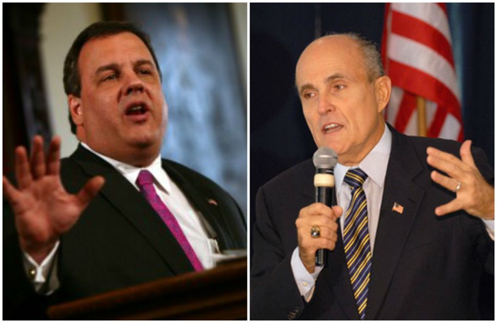 Fight of the Week: Christie v. Giuliani