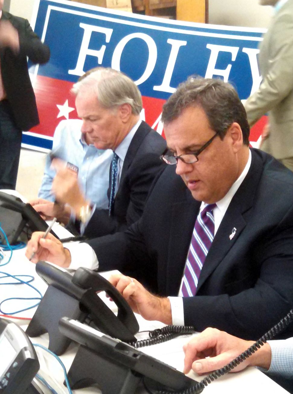 Christie slams Malloy on third visit to CT: 'He's just not a good governor'