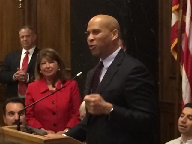 U.S. Senate race: Booker defends record, points to legislative accomplishments despite short time in Senate