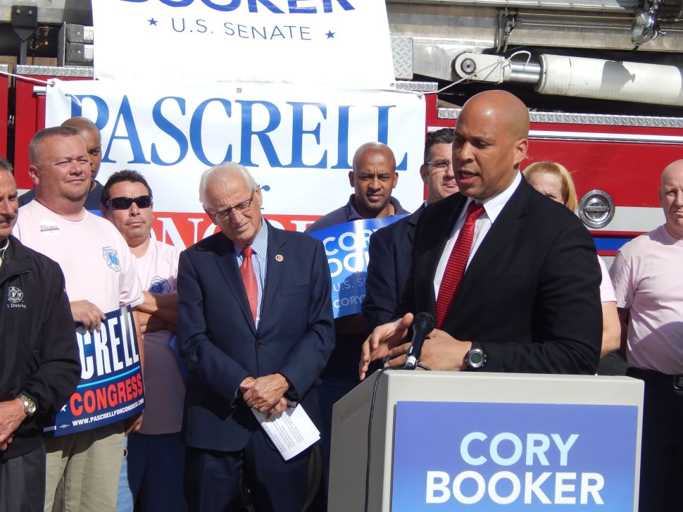 Booker says he's focused 'like a laser beam' on NJ campaign
