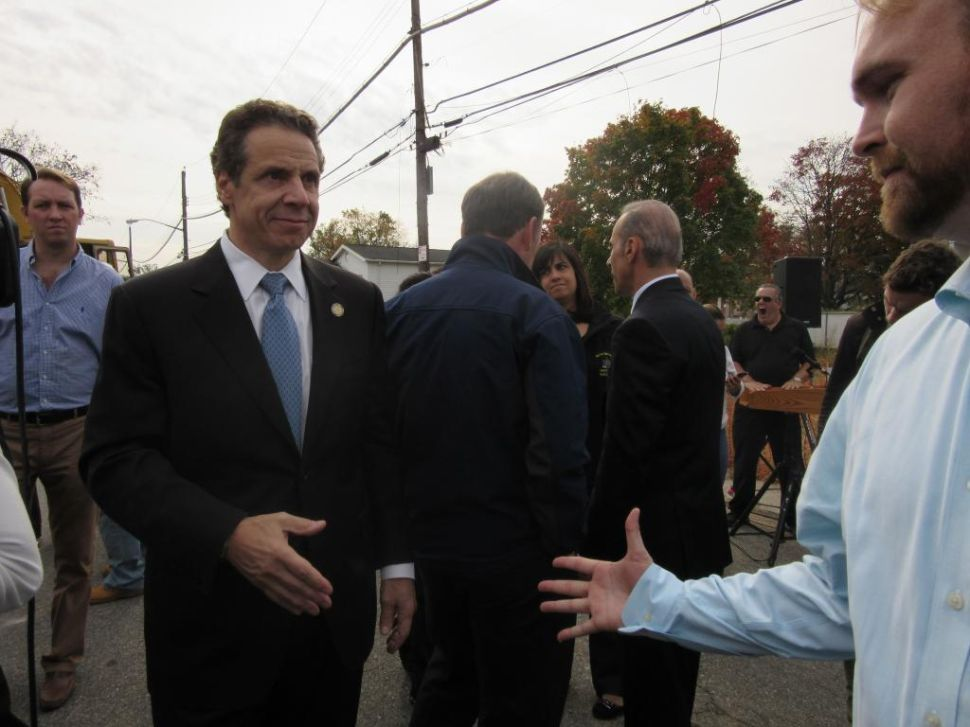 Cuomo Dismisses 'Fringe' Third Parties Like WFP