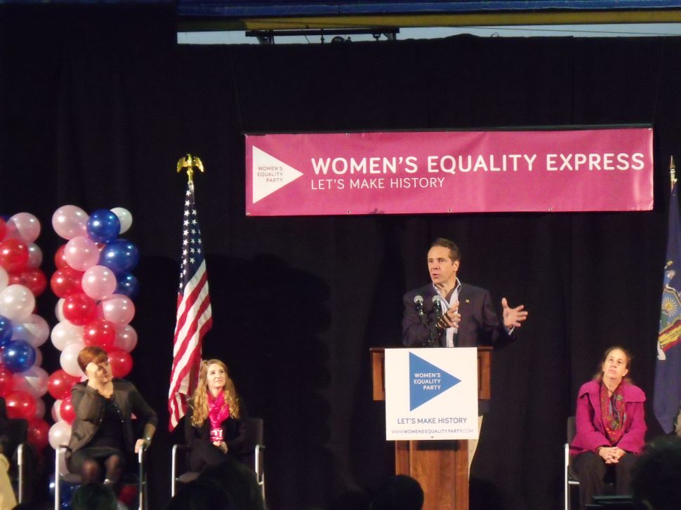 Cuomo Looks to Make Women's Equality Personal With Family Ad