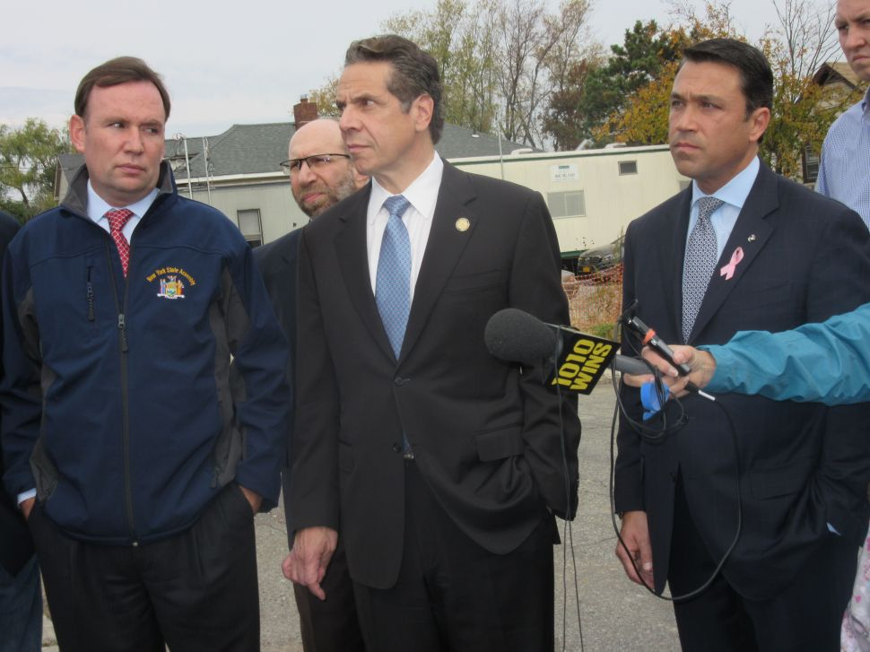 Cuomo Won't Commit to Campaigning for Recchia