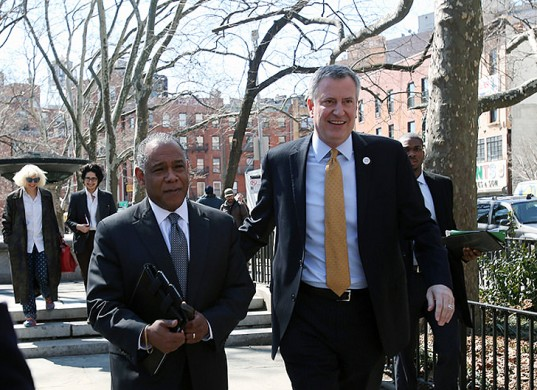 Bill de Blasio Will Ask Wealthy Park Conservancies to Help Fund Parks Plan