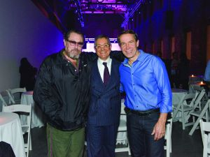 Julian Schnabel, Jeffrey Deitch and Jeff Koons. (Photo by Kristy Leibowitz)