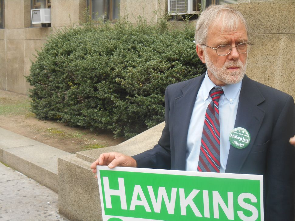 Howie Hawkins Looks Toward a Green Future After Historic Night