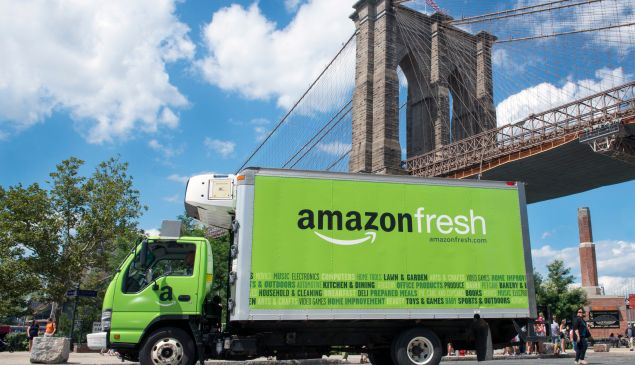 Amazon is moving is grocery delivery service to Brooklyn (AmazonFresh)