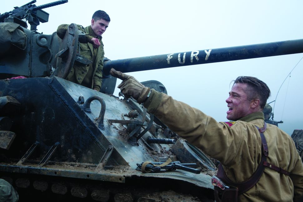 David Ayer's World War II Chronicle, 'Fury,' Is a Violent Mortar Round of a Movie
