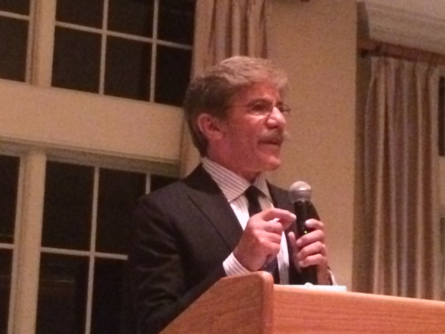 Geraldo Rivera calls on GOP to change immigration policy at Monmouth fundraiser