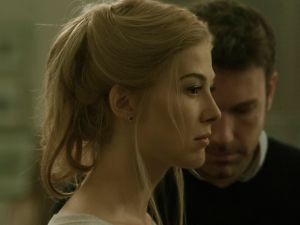 Rosamund Pike and Ben Affleck in David Fincher's Gone Girl.