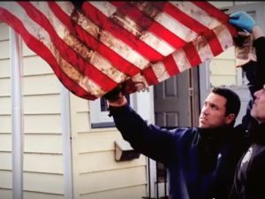 Michael Grimm's new ad highlights his work during Hurricane Sandy (Photo: Will Bredderman).