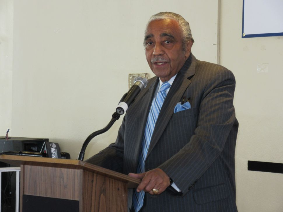Rangel Sizzles Sharpton With Bizarre Comment on Sanford Rubenstein Rape Case