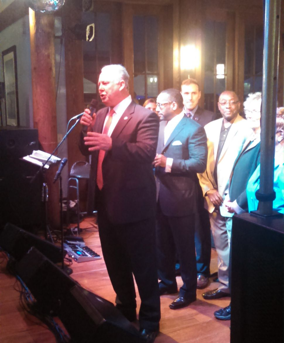 At West Orange fundraiser, Dems turn out in droves to celebrate Joe D