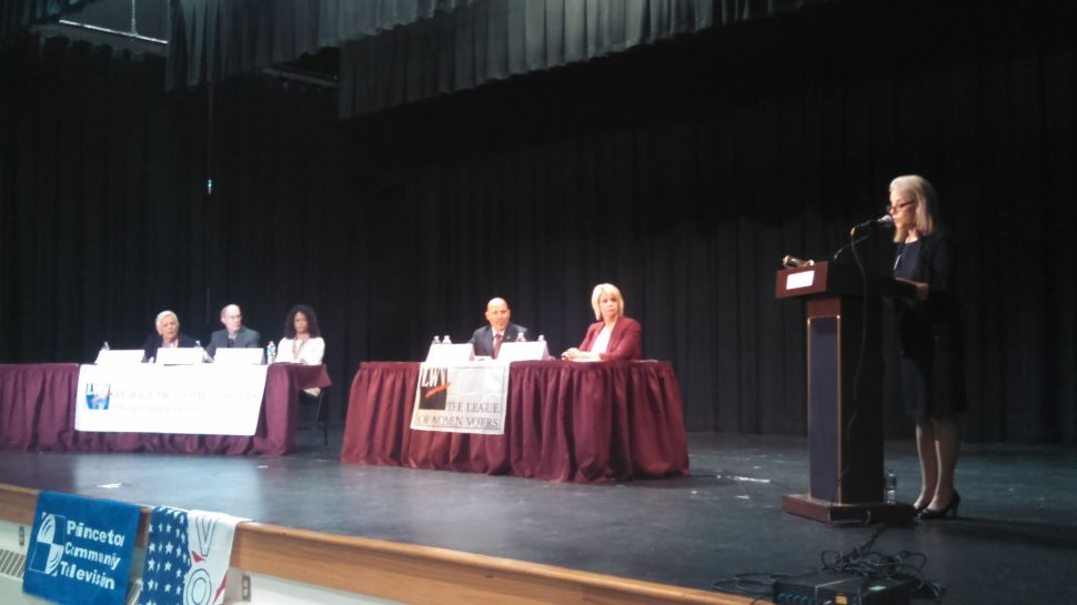 CD3 race: During first official debate, a hawkish MacArthur tussles with Belgard on home turf