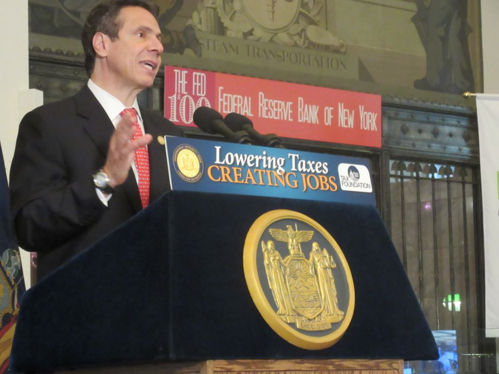 Cuomo Backs Away From WFP 'Fringe' Comment