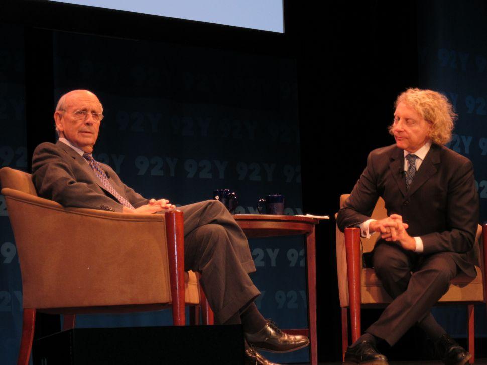 Supreme Court Justice Breyer Talks 'Bush v. Gore,' 'Citizens United'