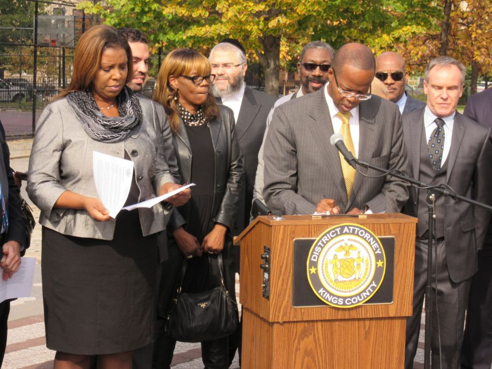 Letitia James Still Not Convinced on Grand Juries