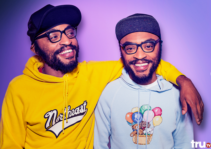 The Lucas Brothers: Twins, Comedians and Friends of the People