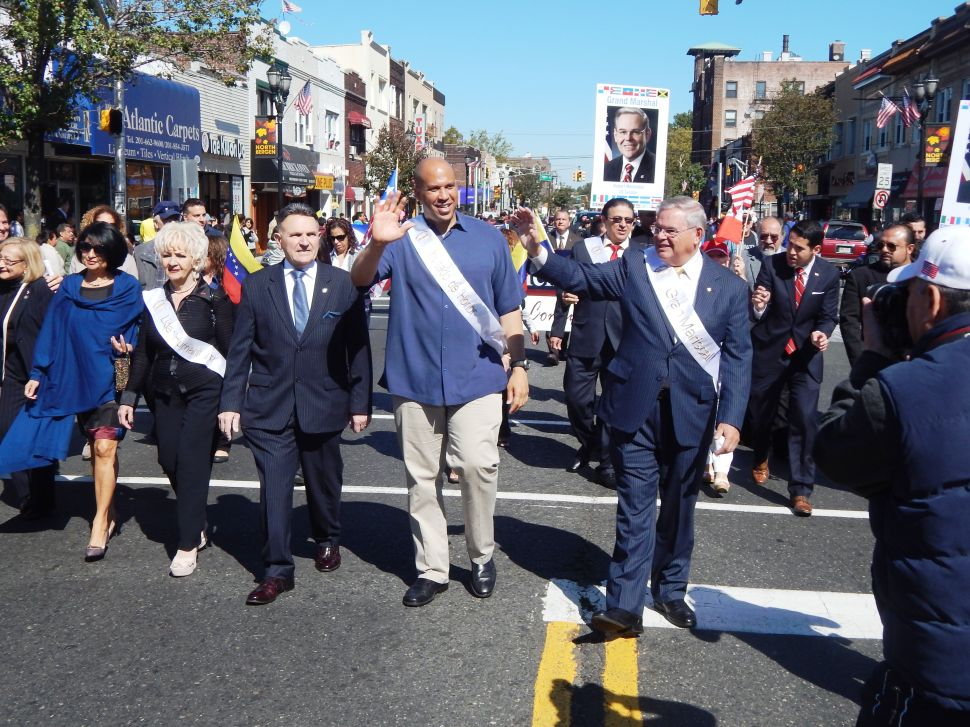 At State Hispanic Parade, Booker says Bell's Ronald Reagan quote 'insulting' to Latinos