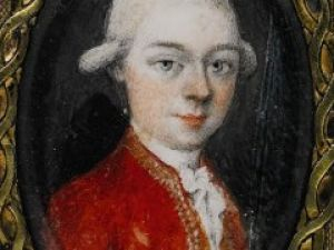 The Mozart portrait in question. (Courtesy Sotheby's)