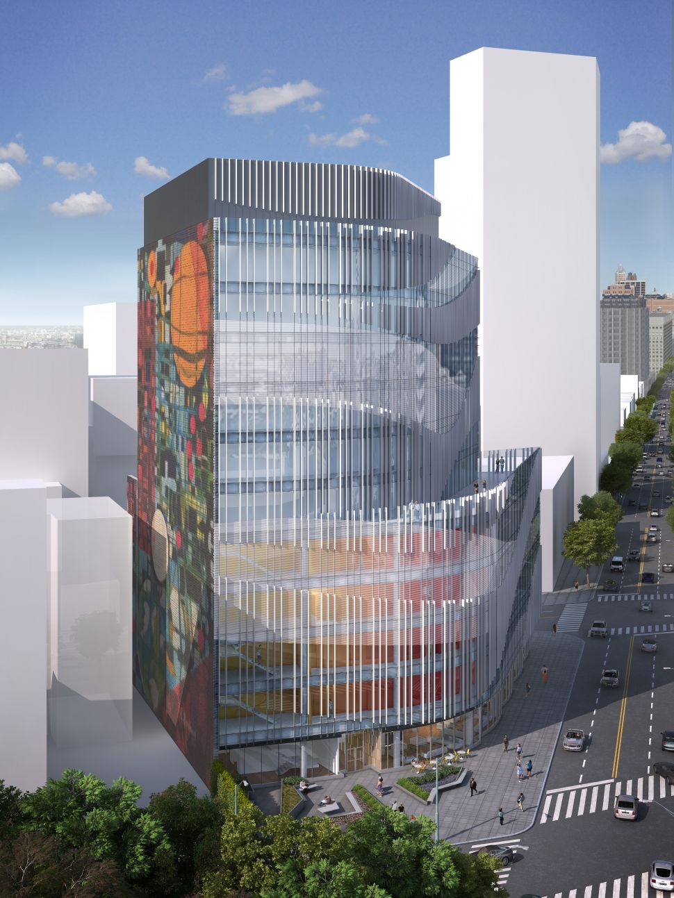 Renderings Revealed for Hotel Trades Council and Association BK Health Center