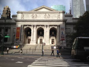 The New York City Public Library's main branch bears the names of numerous donors.