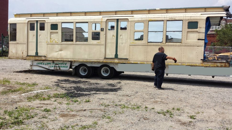 Subway Car For Sale on eBay is the Perfect Excuse to Drop $24K