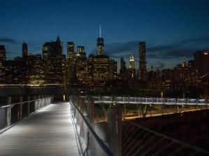 Squibb Park Bridge. (Julienne Schaer/courtesy of Brooklyn Bridge Park)