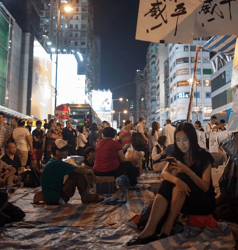 FireChat: The App That Fueled Hong Kong's Umbrella Revolution