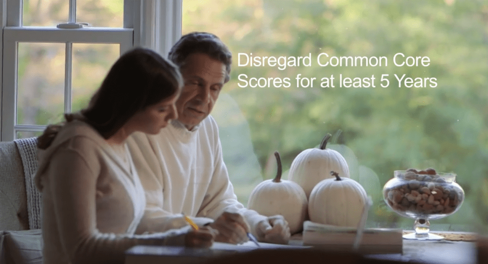 Cuomo Helps With Homework in New Campaign Ad on Education