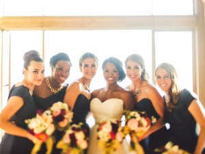 A bridal party styled by Brideside. (Brideside)