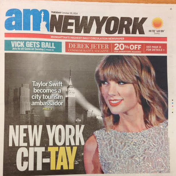 """Proceeds from Taylor Swift's New York """"Anthem"""" To Be Donated to NYC Public Schools"""