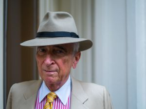 Gay Talese at his New York home (Photo credit: Julius Constantine Motal/New York Observer)