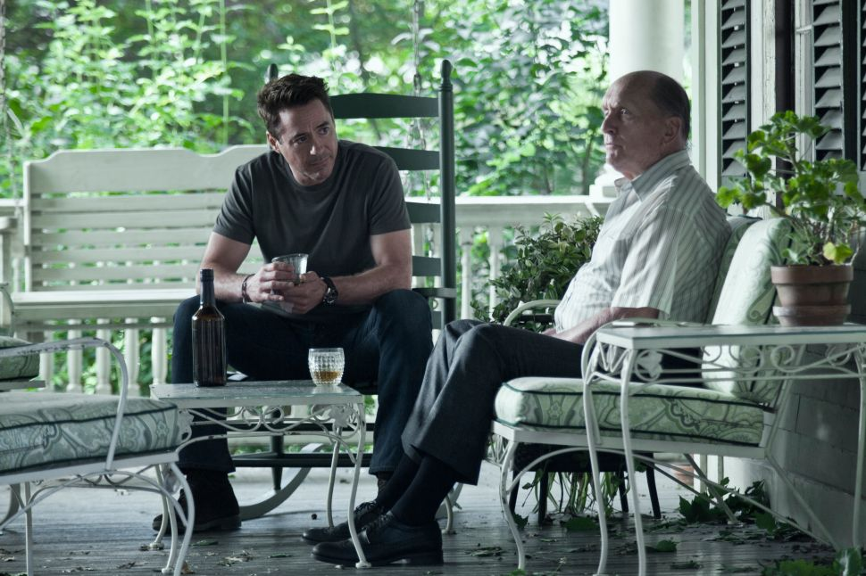 In 'The Judge,' Duvall and Downey Are Unforgettable as a Complex Father-Son Pair