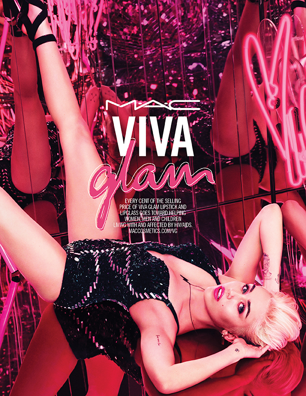 Miley Cyrus Tapped As MAC's New Viva Glam Spokesmodel