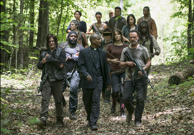 Explaining 'The Walking Dead' to a Zombie: 'Strangers'
