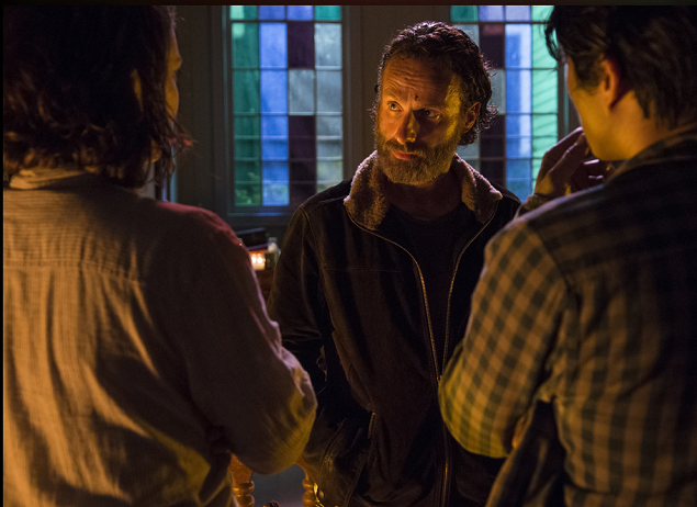 'The Walking Dead' Recap 5×3: Four Walls and a Roof