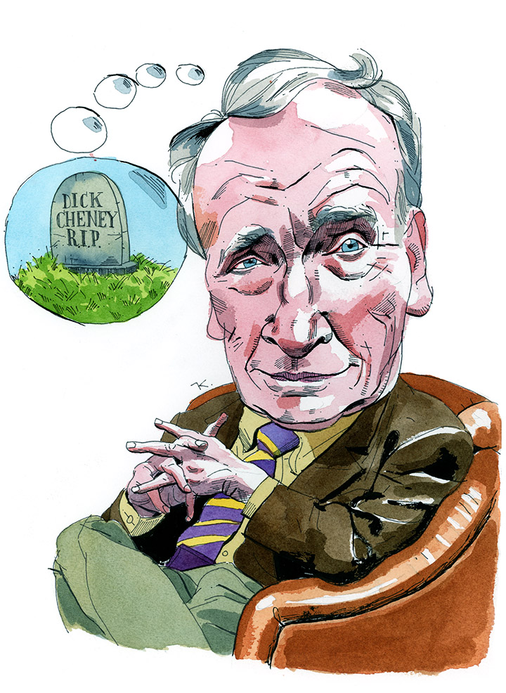 Dick Cavett Takes His Turn On The Hot Seat