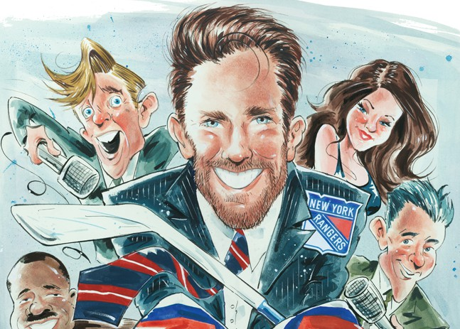 Hammerin' Hank: On and Off the Ice, Henrik Lundqvist Is Ready to Run this Town