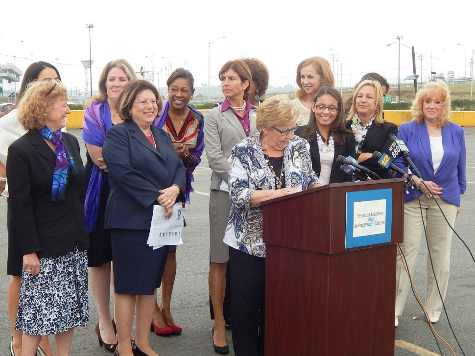 New Jersey's women lawmakers want Goodell fired; stronger counter attack to domestic violence