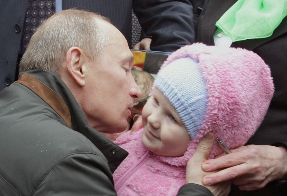 Russian Lawmaker Proposes Mailing Putin Sperm to Impregnate Russian Women