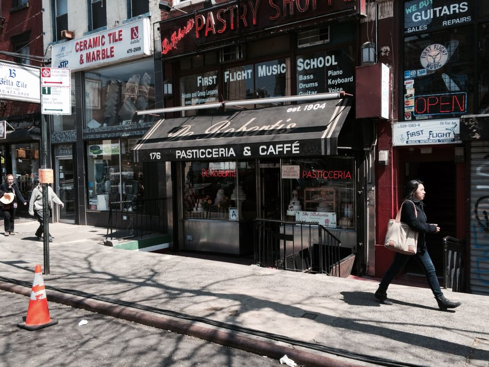 110 Year-Old De Robertis Caffé to Close Its Doors Next Month