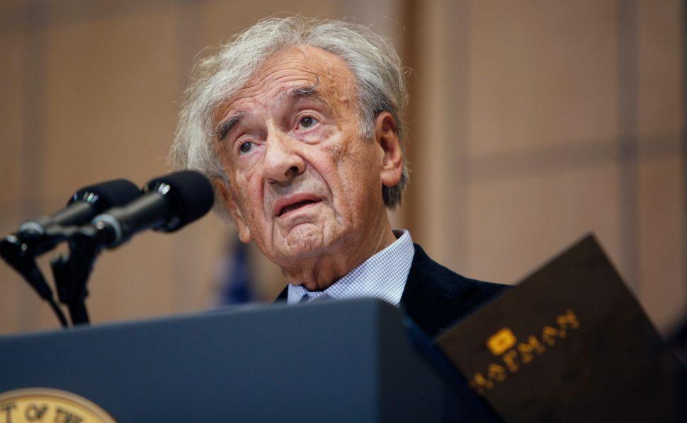 Nobelist Elie Wiesel to Attend Netanyahu Speech