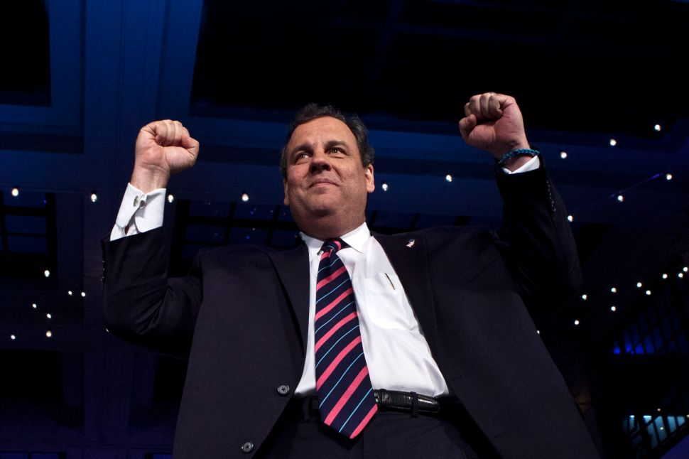 The Bush announcement in the context of Christie