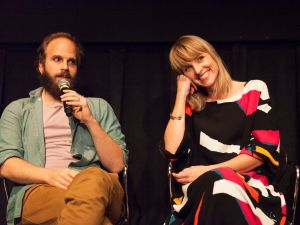Ben Sinclair and Katja Blichfeld of High Maintenance.