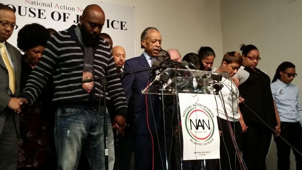 Al Sharpton Asks Media to Focus Less on Reaction to Ferguson