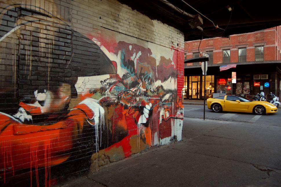 On the Market: Free Murals, Destroyed Murals, Murals Nobody Wants